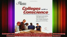 READ book  Colleges with a Conscience 81 Great Schools with Outstanding Community Involvement Full Free