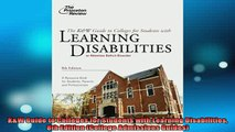 READ FREE FULL EBOOK DOWNLOAD  KW Guide to Colleges for Students with Learning Disabilities 8th Edition College Full Free