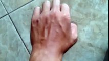Dancing with veins with beatbox