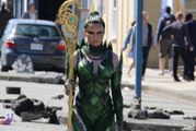First Power Rangers Movie Set Photos Show Elizabeth Banks in Action