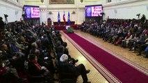 Chile da su adiós a restos de Pablo Neruda