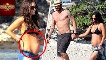 Megan Fox Flaunts BABY BUMP In BIKINI | Hollywood Asia