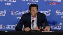 Erik Spoelstra Postgame Interview _ Heat vs Hornets _ Game 4 _ April 25, 2016 _ NBA Playoffs