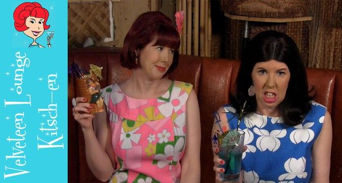 Cocktailing Cousins Velveteen Lounge Kitsch-en Music Video!