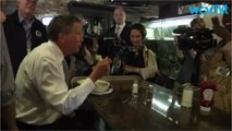 Kasich says he's trying to stop Clinton, not Trump