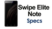 Swipe Elite Note With 5.5-Inch Display Launched Price and Specifications