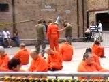 Action Guantanamo à Louvain La Neuve