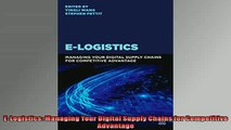 READ book  ELogistics Managing Your Digital Supply Chains for Competitive Advantage  FREE BOOOK ONLINE