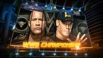 The Rock vs John Cena - WWE Championship - WrestleMania 29