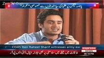 Sirf Pak Army Mushkil Mein Awam Ka Saath Deti Hai- Student bashing politicians & praising Army