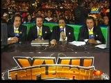 AAA-SinLimite 2009-06-13 Triplemania-XVII 01 Billy Boy, Mini Abismo Negro, Polvo de Estrellas & Sexy Star vs. El Elegido, Fabi Apache, Octagoncito & Pimpinela Escarlata