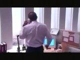 Inside The Twin Towers - Plane Impact Survivor Clip