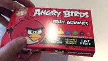 Je vous ai apporté des bonbons N°24 unboxing de Bonbons Angry Birds 1 of 4