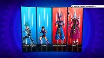 Kabe & Vegeta SSGSS vs Beerus & Whis   Dragon Ball Xenoverse