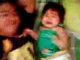 Baby Margaux Joy H. Manzolim: Jan.29,14 Bad trip sa Papa nya.