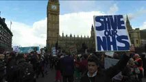 La huelga de médicos residentes deja a Inglaterra sin servicios de emergencia