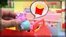 Mcdonald's de la cocina y anpanman juguetes, Mcdonald's PlaySet / Anpanman Juguetes visitar una Miniatura de McDonalds! | HD