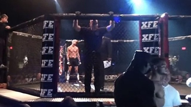 Tim Kunkel vs Julies Knighton at XFE 25 - Sand Event Center, Bethlehem, PA  08/17/2013