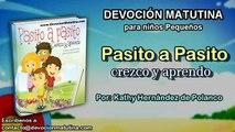 Miércoles 27 de abril 2016   Devoción Matutina para niños Pequeños 2016   Jesús es la felicidad