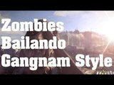 Dying Light - Easter Egg: Zombies Bailando el Gangnam Style