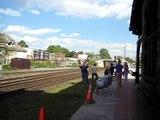 CSX & BNSF mixed freight train in Palmer, MA 5/17/08