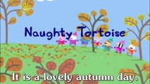 Learn english through cartoon | Peppa Pig subtitled | Episode 52: Naughty Tortoise subtitled
