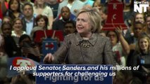 Hillary Clinton Addresses Bernie Sanders Supporters After Four Big Wins