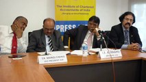 5 of 6   Institute of Chartered Accountants of India press briefing with ICAI president K  Raghu