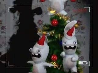 Les Lapins Crétins fêtent Noël