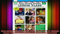 DOWNLOAD FREE Ebooks  Early Learning Thematic Lesson Plans Grades PK  1 32 Thematic Lesson Plans for A Full EBook