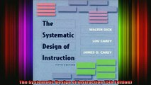 Ebook Online The Systematic Design Of Instruction 5th Edition Read Ebook Video Dailymotion