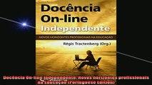 READ book  Docência Online Independente Novos horizontes profissionais na Educação Portuguese Full Ebook Online Free