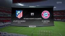 Atletico Madrid vs. Bayern Munich - UEFA Champions League 2015-16 - CPU Prediction