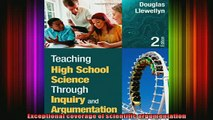 READ book  Teaching High School Science Through Inquiry and Argumentation Full EBook