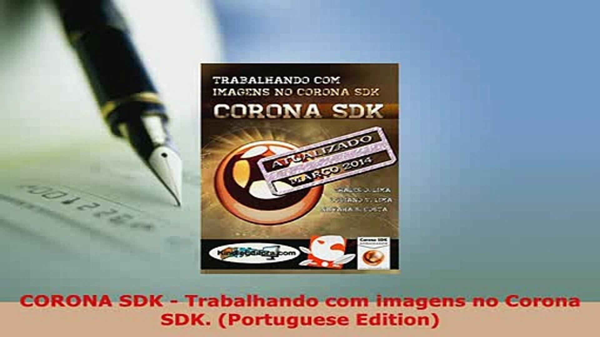 Download  CORONA SDK  Trabalhando com imagens no Corona SDK Portuguese Edition Free Books