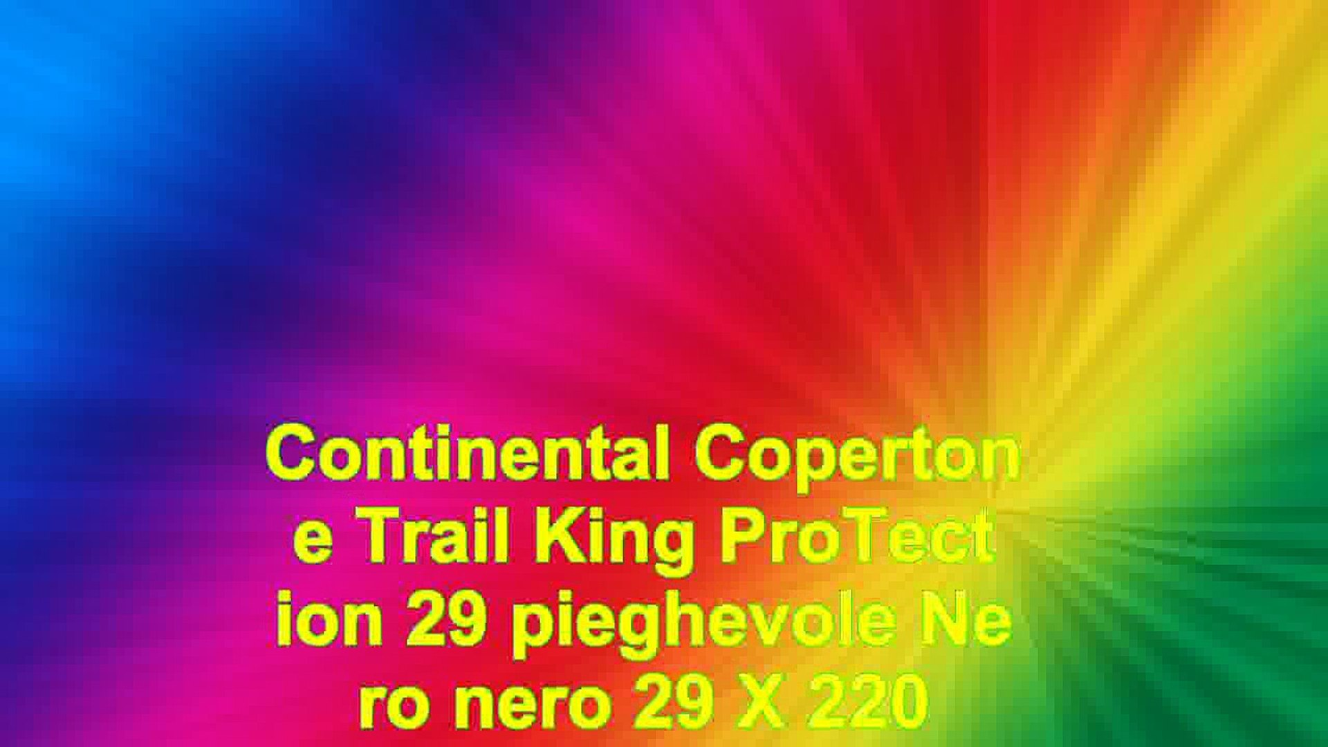 Continental  Copertone Trail King ProTection 29 pieghevole Nero nero 29 X 220