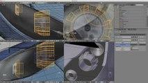 Blender Tutorial: Modelling Teil 29 - Fassungen und Maske