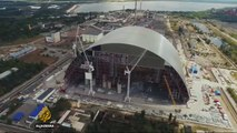 Giant dome project aims to contain Chernobyl's radioactivity