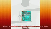 FAVORIT BOOK   Waves in the Ocean and Atmosphere Introduction to Wave Dynamics  FREE BOOOK ONLINE
