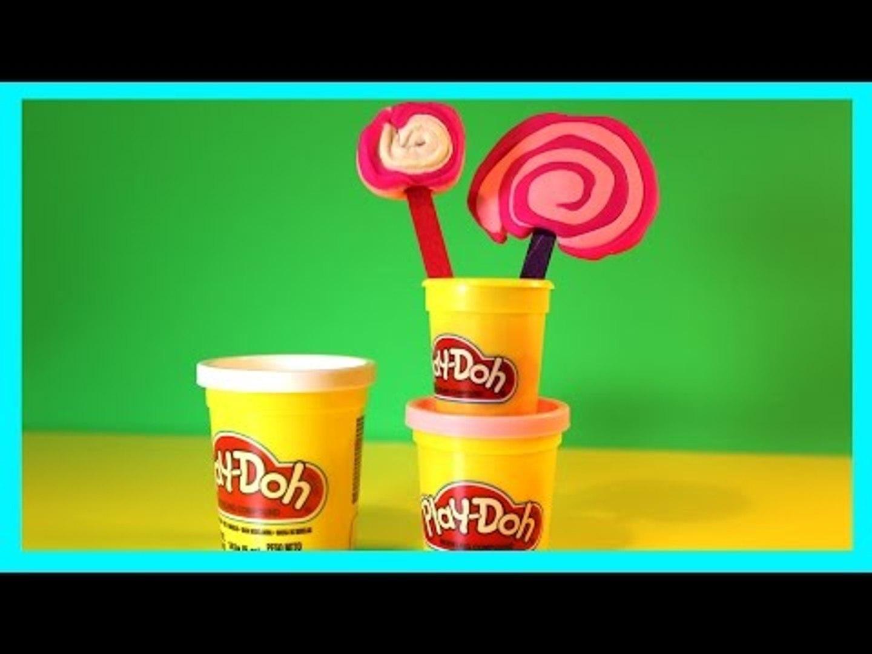 Play Doh (Play Dough) Lolly Pop Fun Video for Children ♥