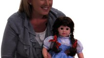 The Wizard Of Oz Dorothy In Blonde Wig And Wearing Baby Doll
