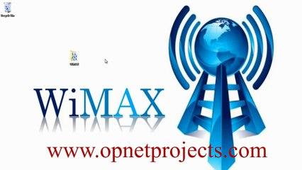 WIMAX OPNET SIMULATION