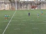 Situation entraînement Rugby à 7 : Rectangle - ejection