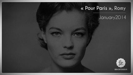 Bon Entendeur, Pour Paris, Romy, January2014