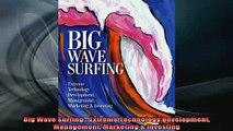 READ FREE Ebooks  Big Wave Surfing  Extreme Technology Development Management Marketing  Investing Free Online