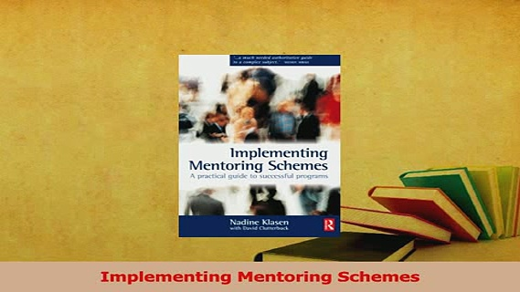 Read  Implementing Mentoring Schemes Ebook Free