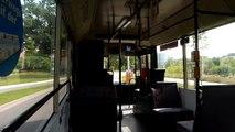 Cottbus Verkehr: Mitfahrt MAN NL 202 Linie 15 Cottbus Zentrum
