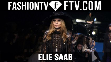 First Look Elie Saab F/W 15-16 Paris Fashion Week | FTV.com