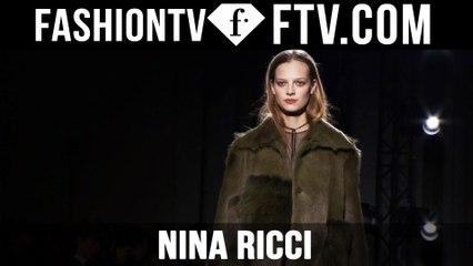 First Look Nina Ricci F/W 15-16 Paris Fashion Week | FTV.com