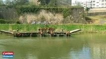 Manoeuvres du 3e RG sur la Meuse